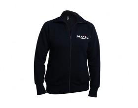 Men Zipped blue Jacket