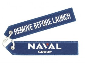 Naval Group Navy Keyring