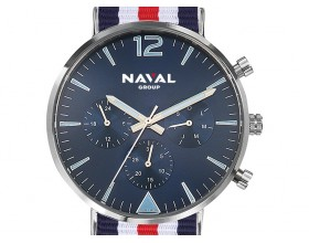 Watch (navy-white-red)