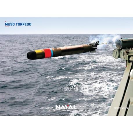 MU90 TORPEDO Poster