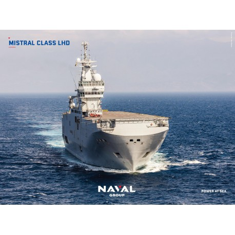 MISTRAL CLASS LHD Poster