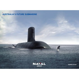 Poster sous marin Australien ciel clair