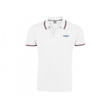 Men's White Executive Polo Shirt