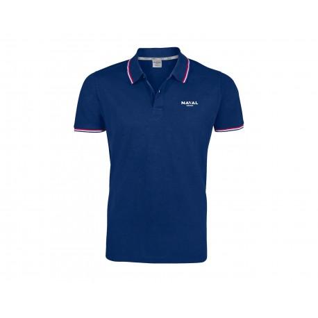 Men's Blue Executive Polo Shirt