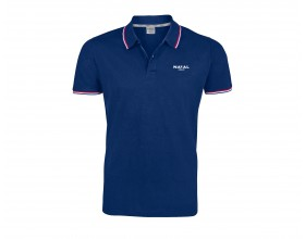 Men's Blue Executive Polo Shirt