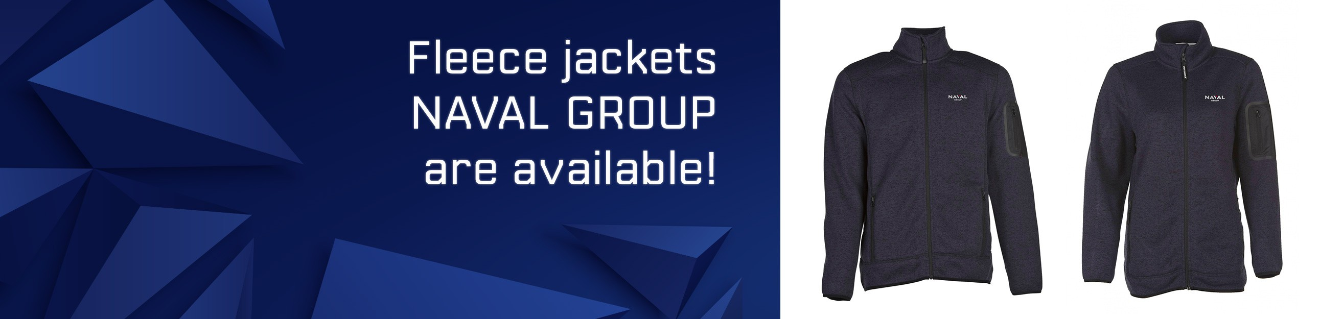 Fleece jackets 2020 Naval Group